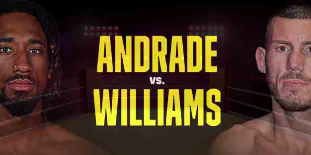 Demetrius Andrade vs. Liam Williams Live Stream